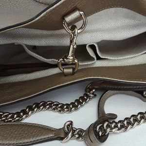 Gucci Bags - New in Bag GUCCI 310306 Soho gold leather tote bag